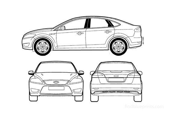 Ford Mondeo III 5-door Hatchback 2007