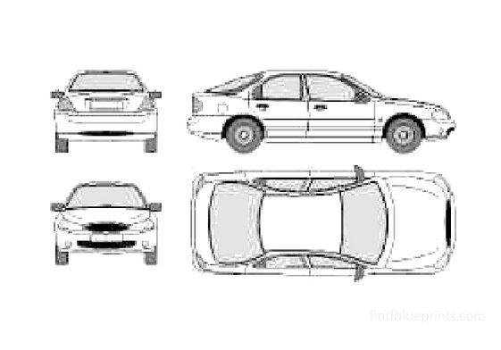 Ford Mondeo Mk2 Hatchback 1996