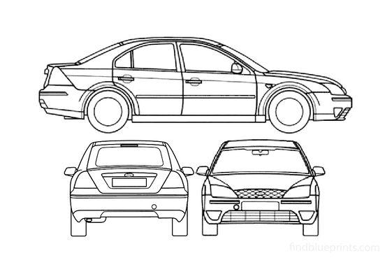 Ford Mondeo S2 Sedan 2000