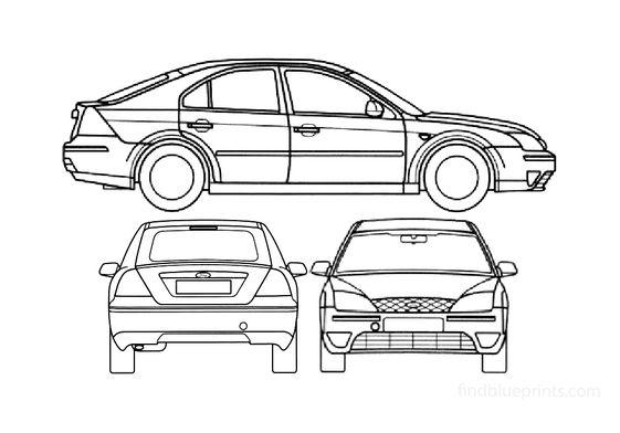 Ford Mondeo S2 5-door Hatchback 2000