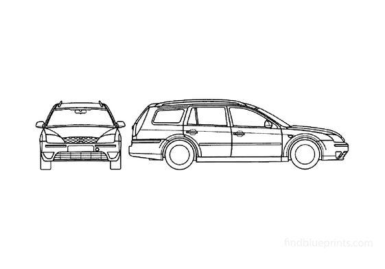 Ford Mondeo S2 Estate Wagon 2000