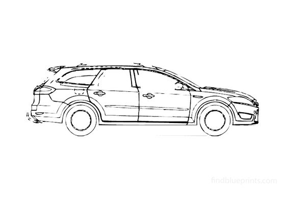 Ford Mondeo SIII Estate Wagon 2008
