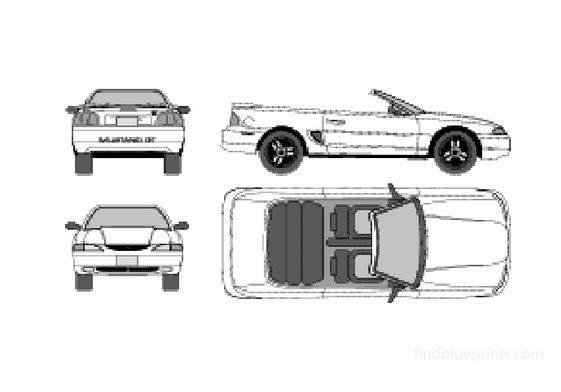 Ford mustang Cabriolet 1994
