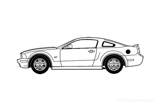 Ford mustang Coupe 2005