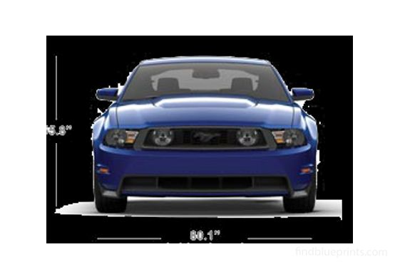Ford Mustang Coupe 2011