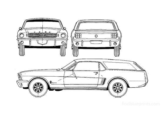 Ford Mustang Wagon 1965