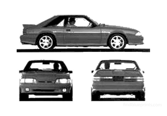 Ford Mustang Cobra Coupe 1993