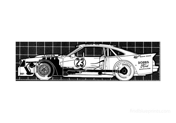 Ford Mustang Cobra II Racer Coupe