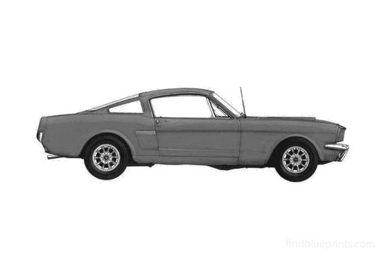 Ford Mustang Fastback Coupe 1965