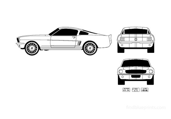 Ford Mustang Fastback Coupe 1967