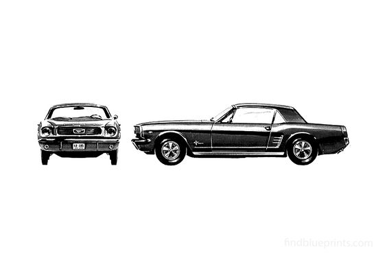 Ford Mustang Hardtop Coupe 1966