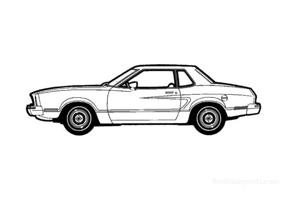 Ford Mustang II Coupe 1974