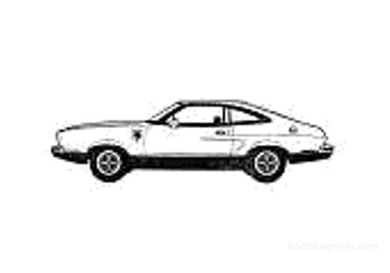Ford Mustang II Cobra Coupe 1976