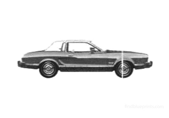 Ford Mustang II Ghia Coupe 1975