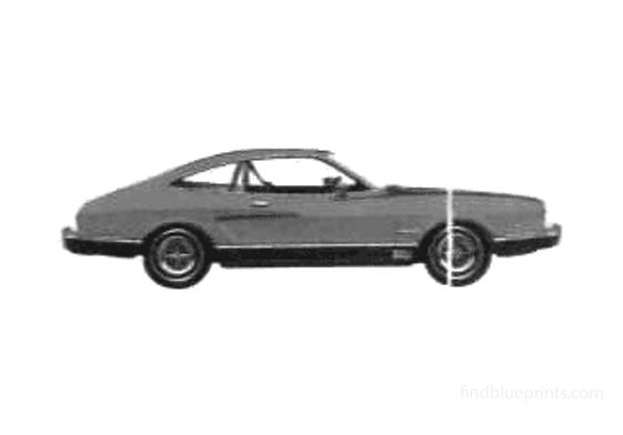 Ford Mustang II Mach I Coupe 1975