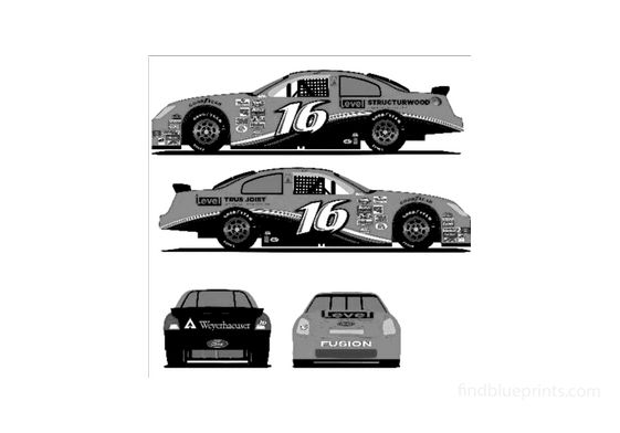 Ford Nascar Coupe 2006