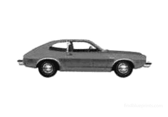 Ford Pinto Coupe 1975