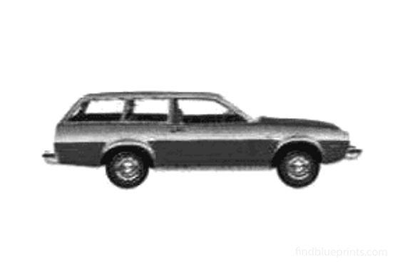 Ford Pinto Wagon 1975