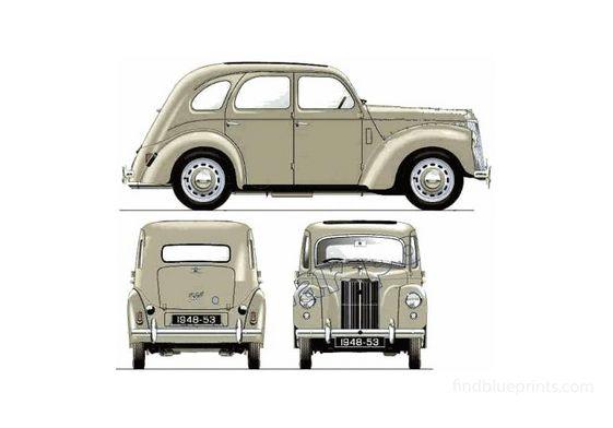 Ford Prefect E493A Sedan 1949