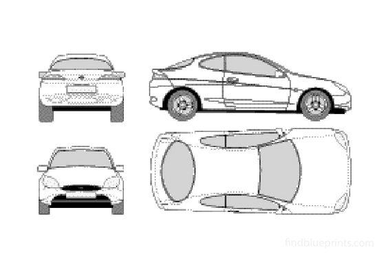 Ford Puma Coupe 1998