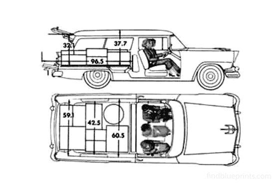 Ford Ranch Wagon 1956