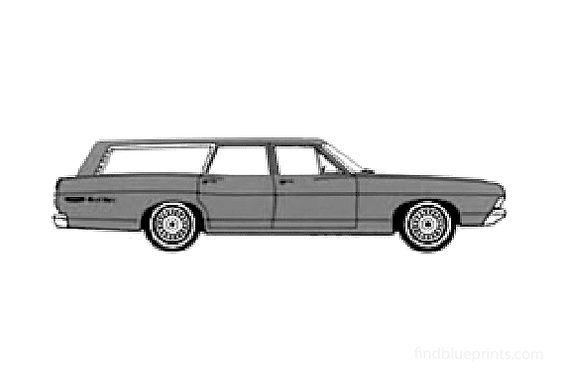 Ford Ranch Wagon 1968