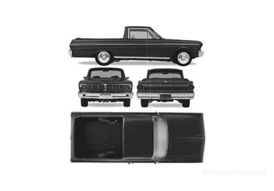 Ford Ranchero Pick-up 1971