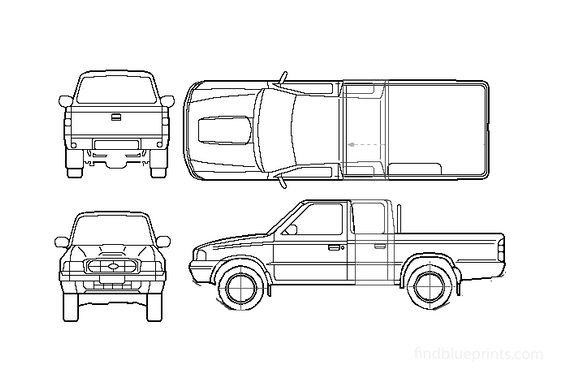 Ford Ranger Pick-up 2001