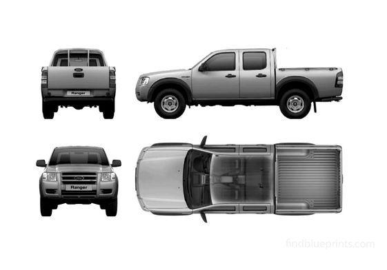 Ford Ranger Double Cab Pick-up 2007