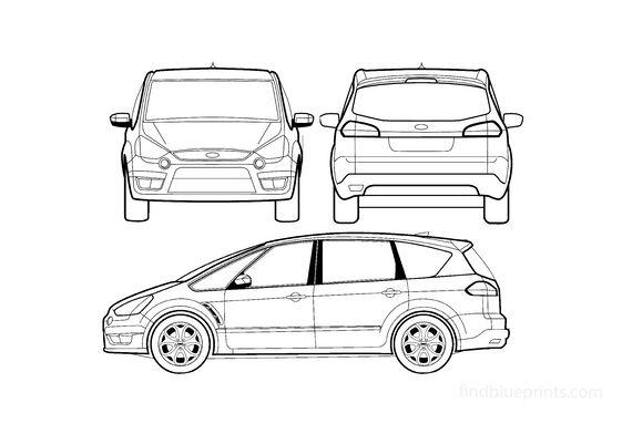 Ford S-Max Minivan 2007
