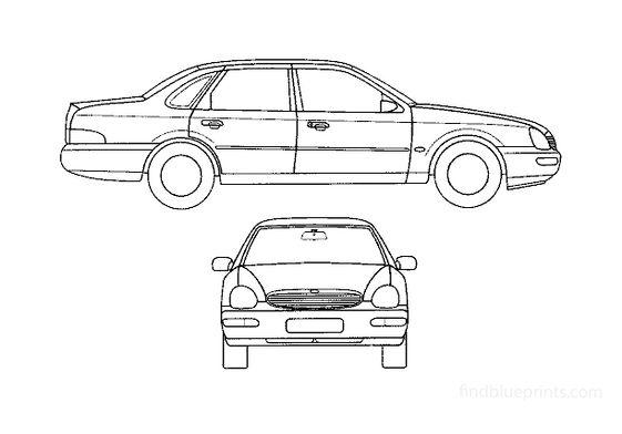 Ford Scorpio Sedan 1994