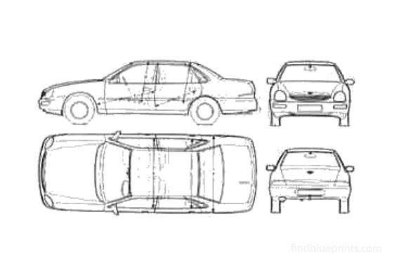 Ford Scorpio Sedan 1995