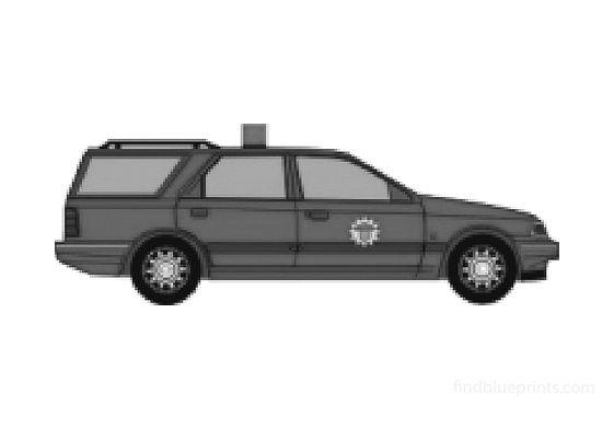 Ford Scorpio Estate Wagon 1992