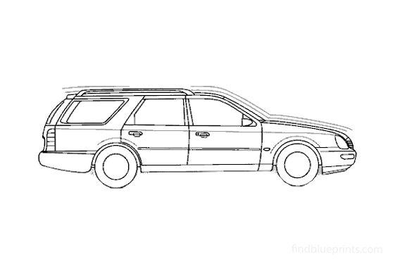 Ford Scorpio Estate Wagon 1994
