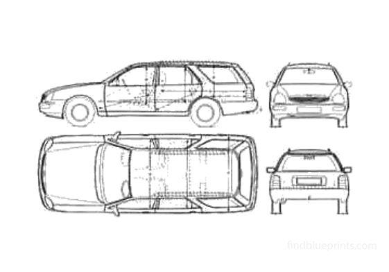 Ford Scorpio Turnier Wagon 1995