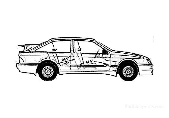 Ford Sierra Cosworth Hatchback 1987