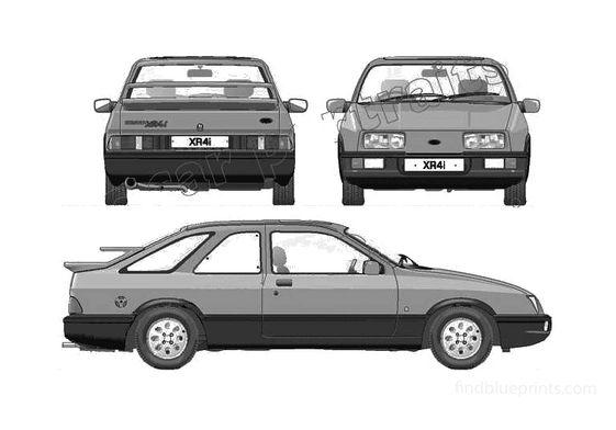Ford Sierra XR4i Hatchback 1983