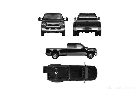 Ford Super Duty Crew Cab Pick-up 2007