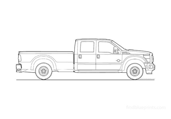 Ford Super Duty Crew Cab Pick-up 2010