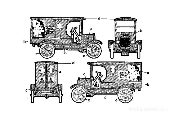 Ford T Truck 1923