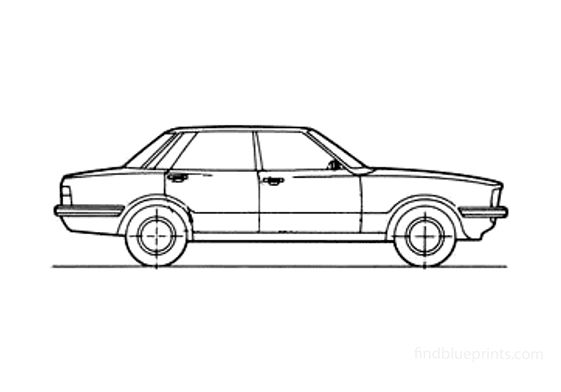 Ford Taunus Sedan 1979