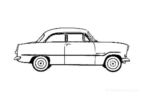 Ford Taunus 12M Sedan 1958