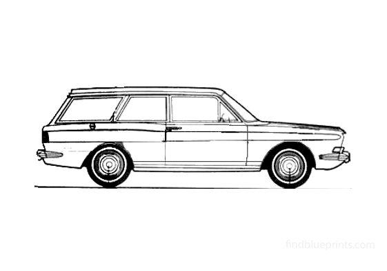 Ford Taunus 15M Turnier 2-door Wagon 1967