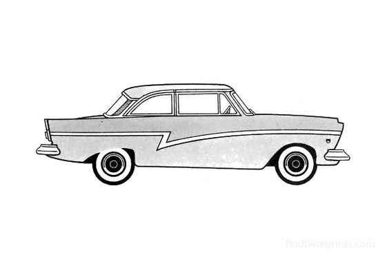 Ford Taunus 17M Sedan 1957