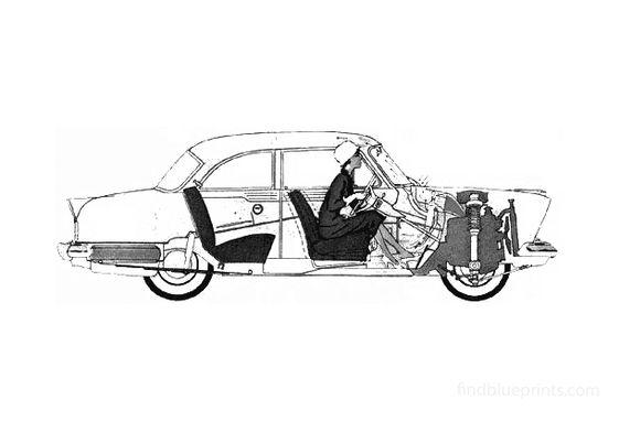 Ford Taunus 17M (P2) Sedan 1957