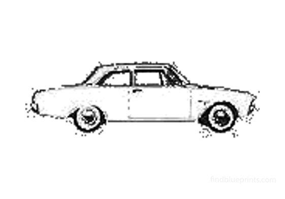 Ford Taunus 17M (P3) Sedan 1964