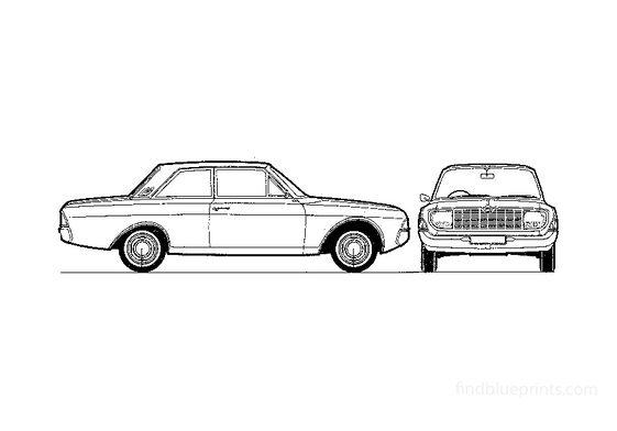 Ford Taunus 17M (P5) 2-door Sedan 1967