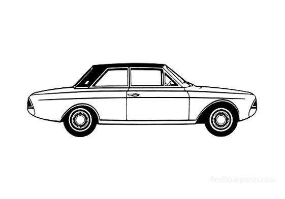 Ford Taunus 17M (P6) Sedan 1965