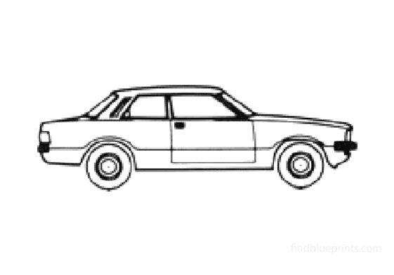 Ford Taunus 2-door Sedan 1978