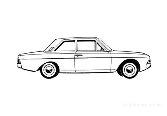Ford Taunus 20M (P6) 2-door Sedan 1967